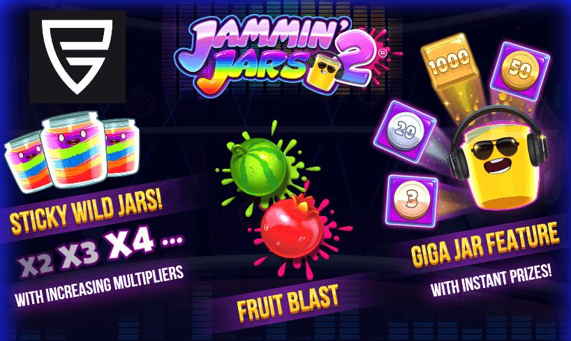 Jammin Jars 2 by Push Gaming