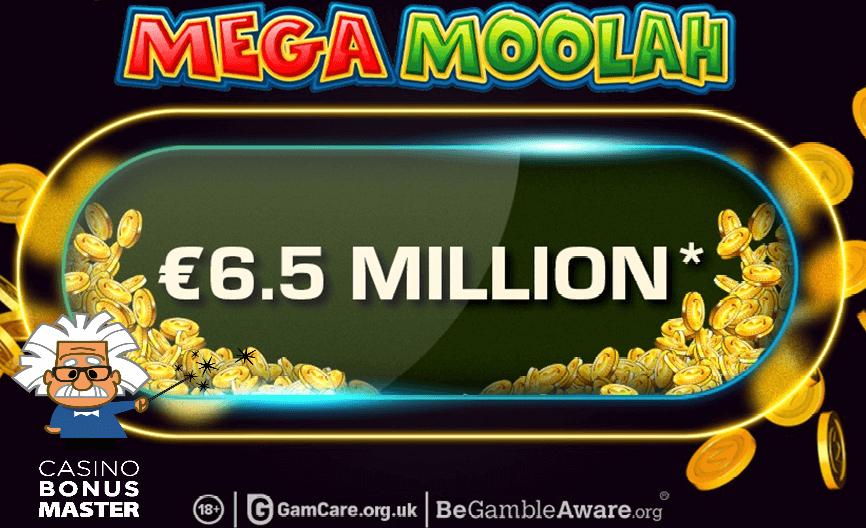Mega Moolah Jackpot Hit
