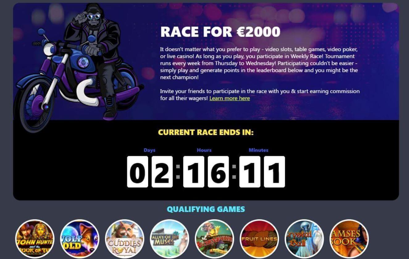 Mr Luck Casino Tournament