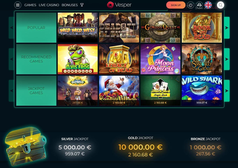 Vesper Casino Slots