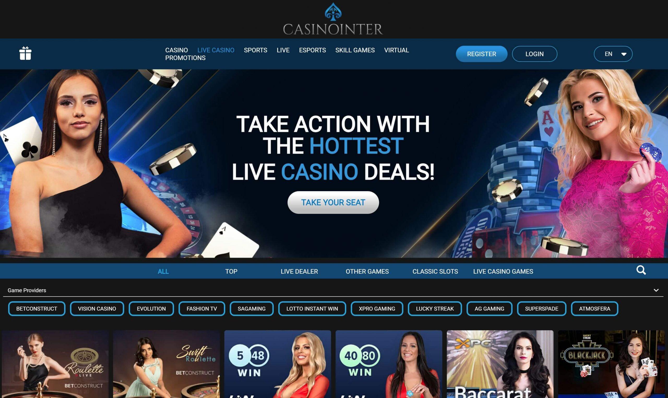 Casinointer Live Casino