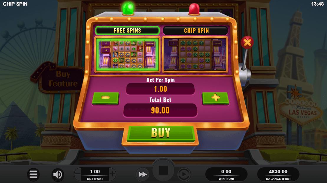 Chip Spin Bonus Buy Feature