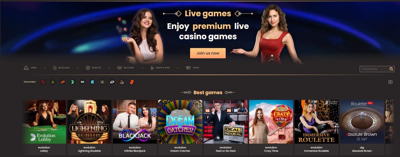 National Casino Live Games