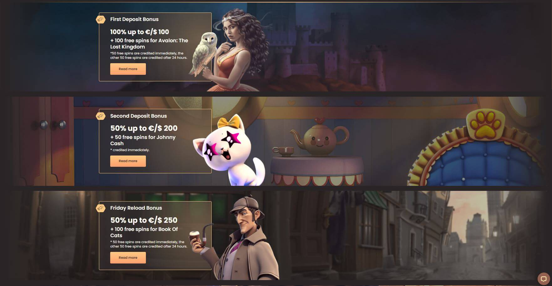 National Casino Promotions