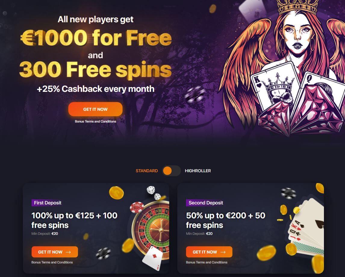 Praise Casino Welcome Bonus