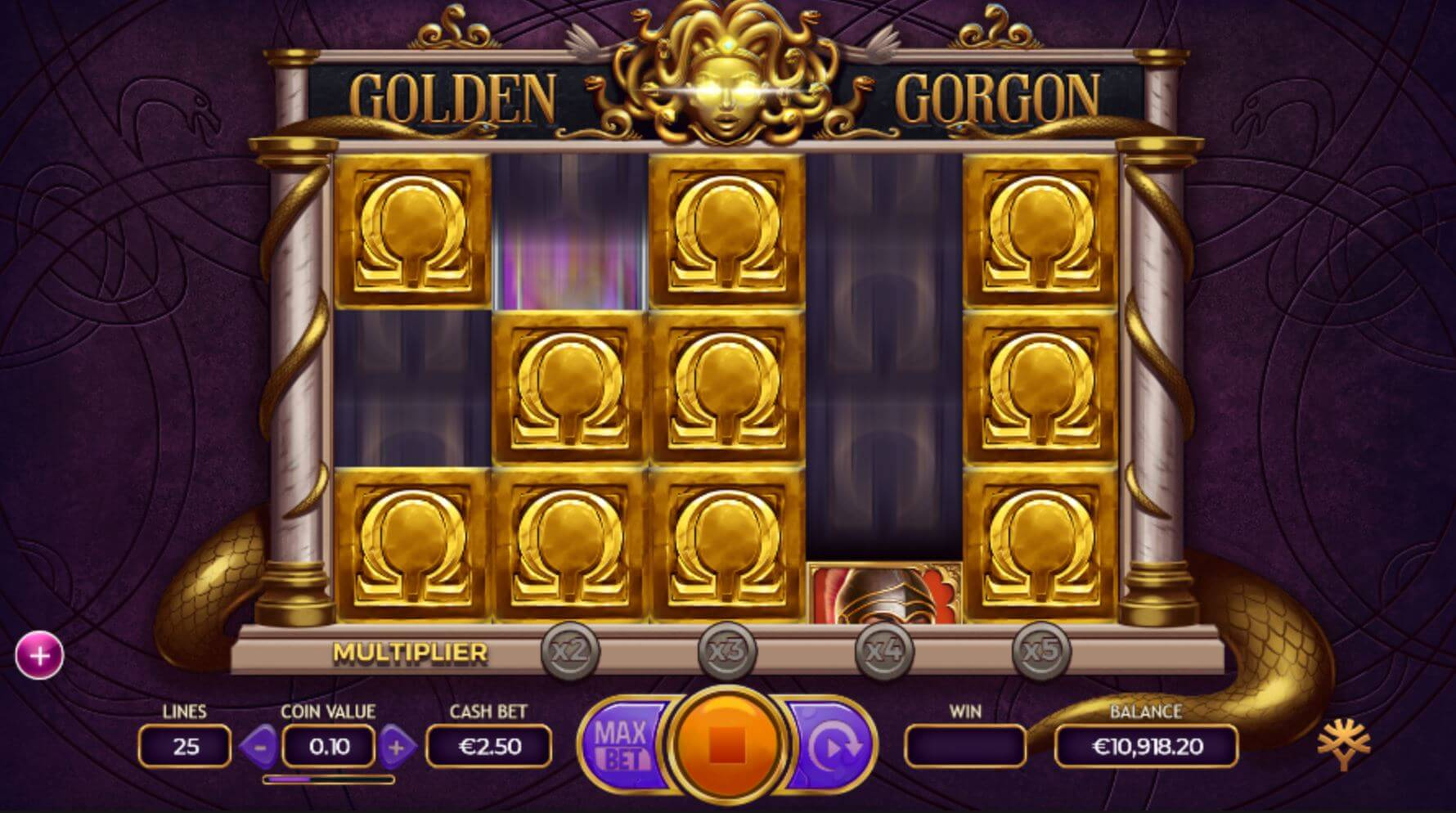 Golden Gorgon Golden symbols