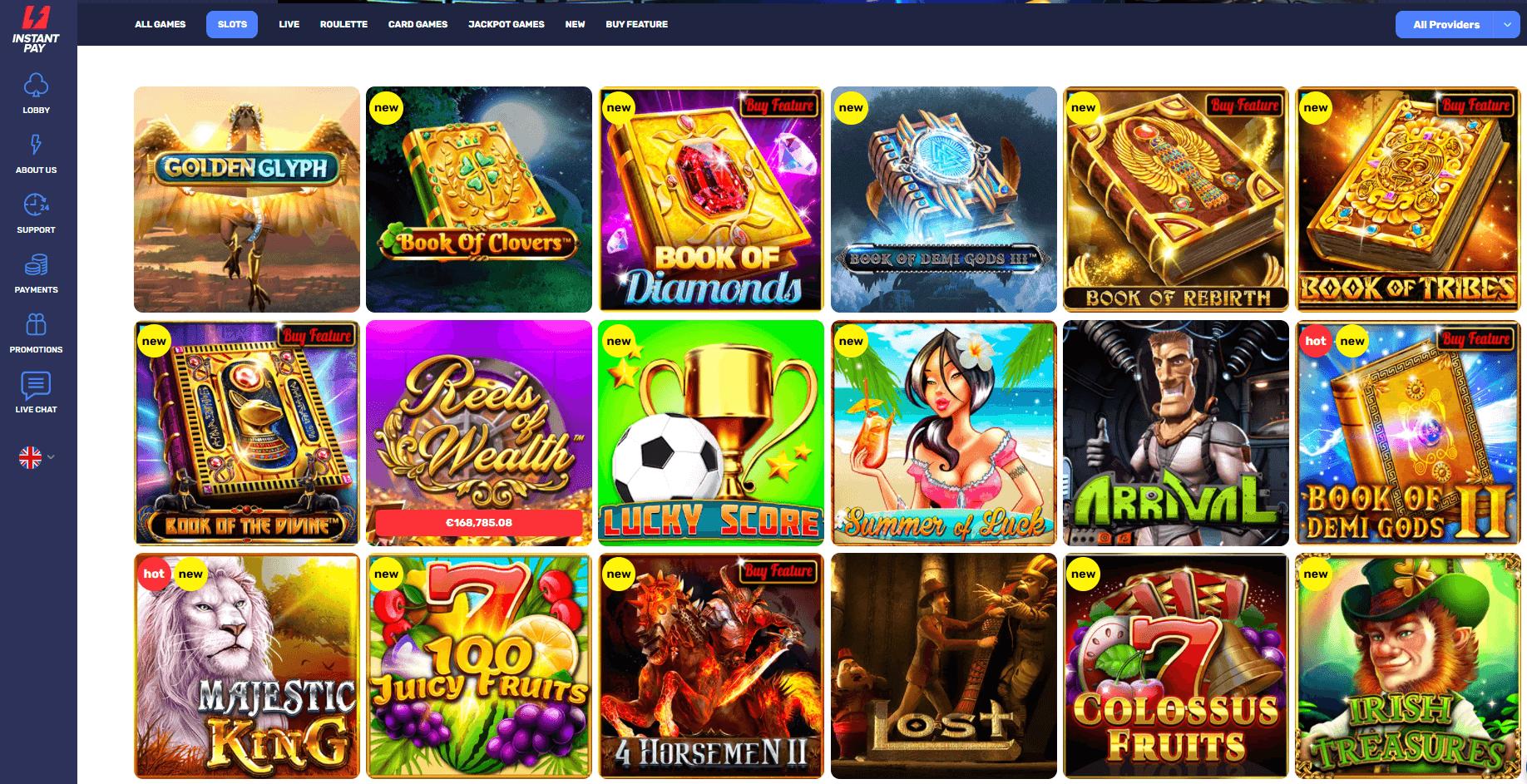 InstantPay Casino Slots