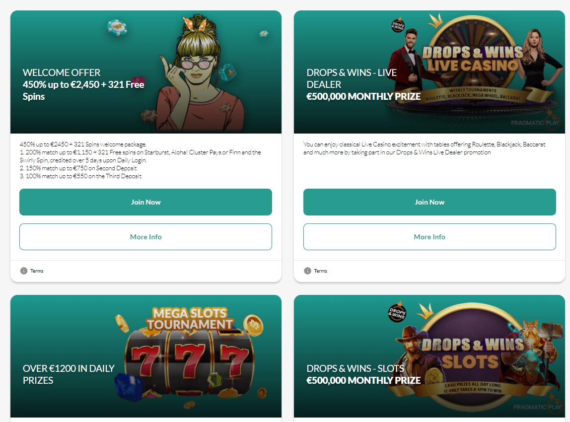 Jackpot Molly Casino Promotions