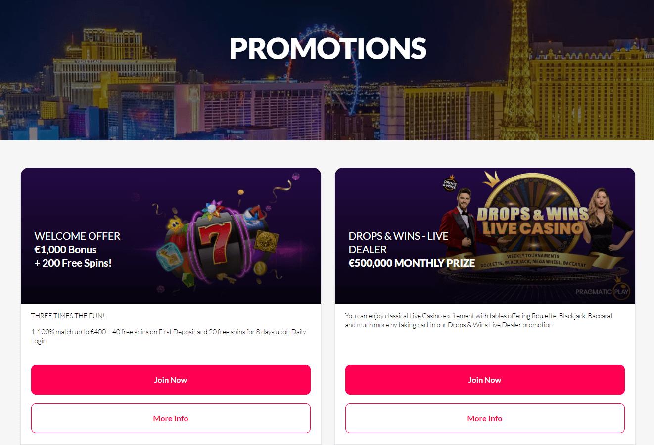 Vegas Kings Casino Promotions