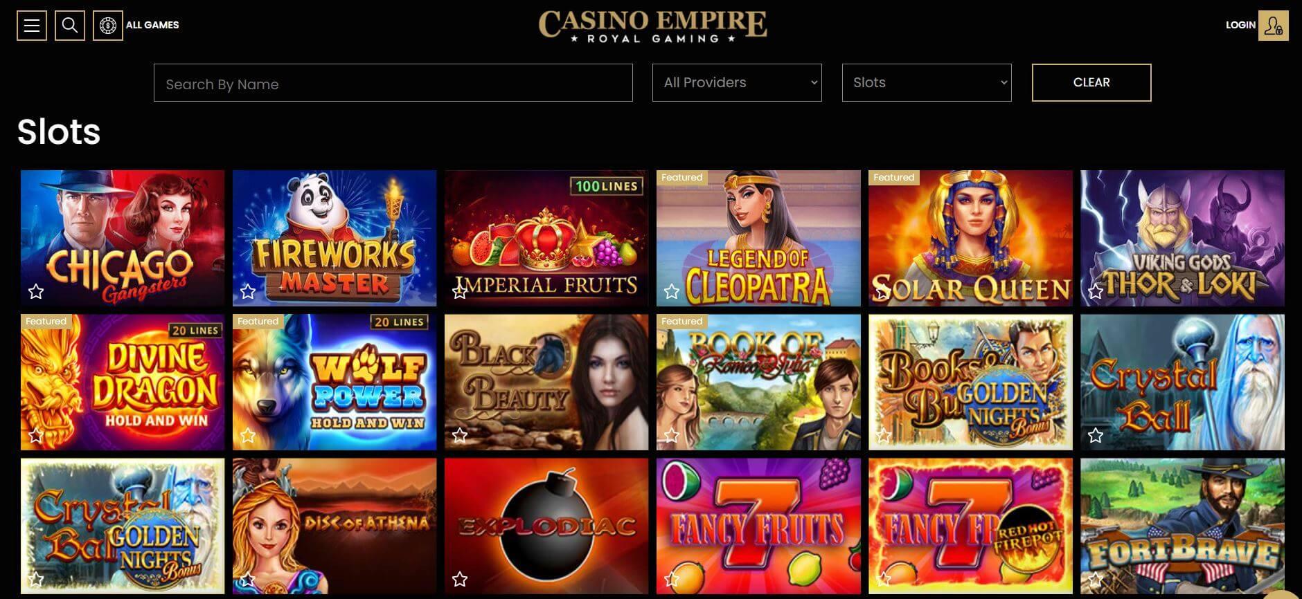 Casino Empire Slots