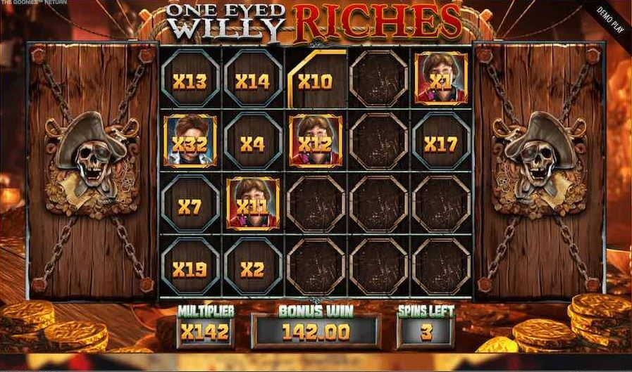 The Goonies Return One Eyed Willy Riches Bonus